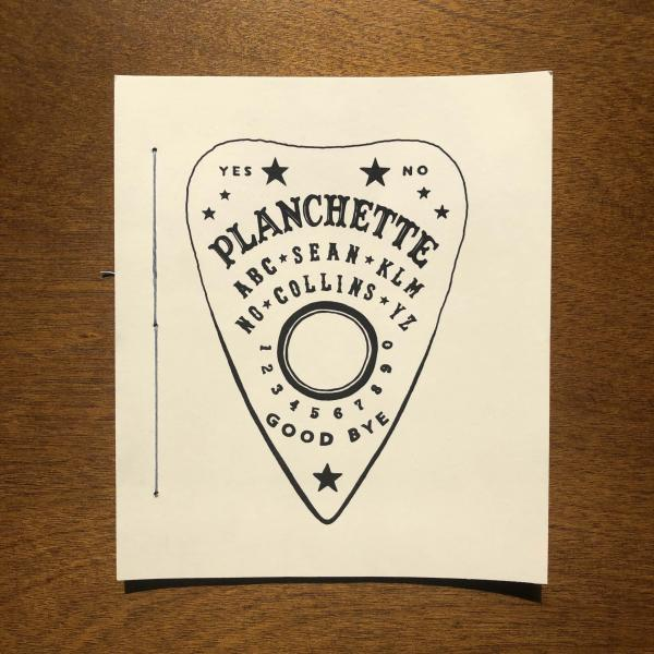 cover of 'Planchette' by Sean Collins
