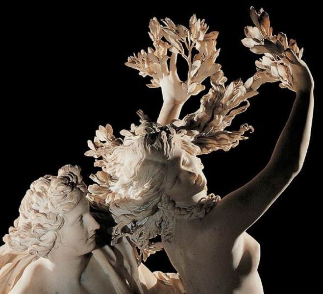 Apollo and Daphne, Gian Lorenzo Bernini, 1625.