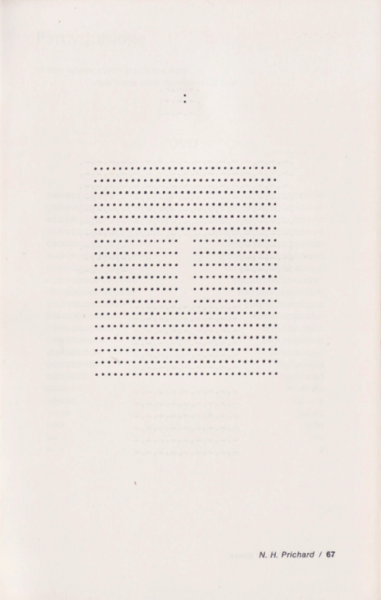 poem featuring dots, page 67
