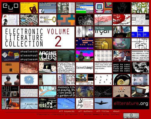 Electronic Literature Collection Volume Two