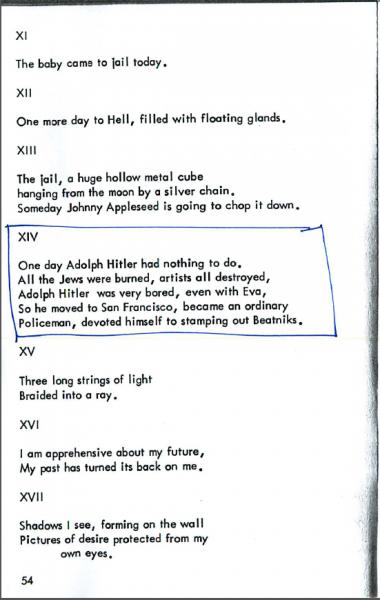 Bob Kaufman, 'Jail Poems' | Jacket2