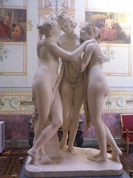"Antonio Canova's ""The Three Graces"""