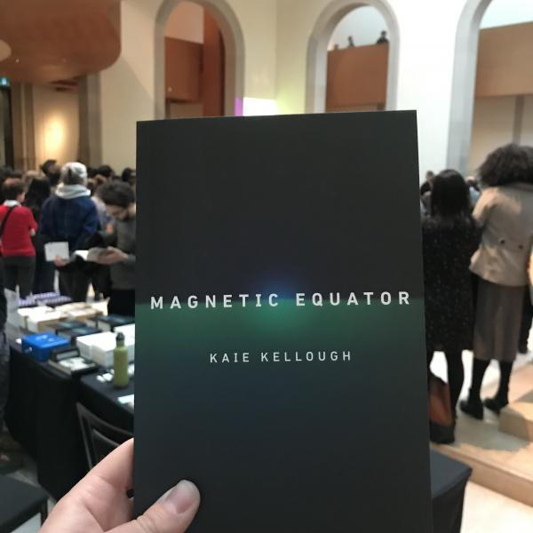 From the launch of Magnetic Equator by Kaie Kellough at Art Gallery of Ontario (2019)
