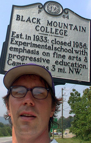 selfie, North Carolina, 2002