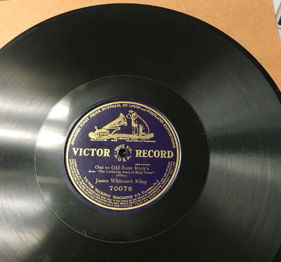 James Whitcomb Riley Victor record