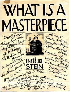 What Is A Masterpiece by Ward Ritchie