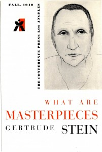 What Are Masterpieces - Conference Press