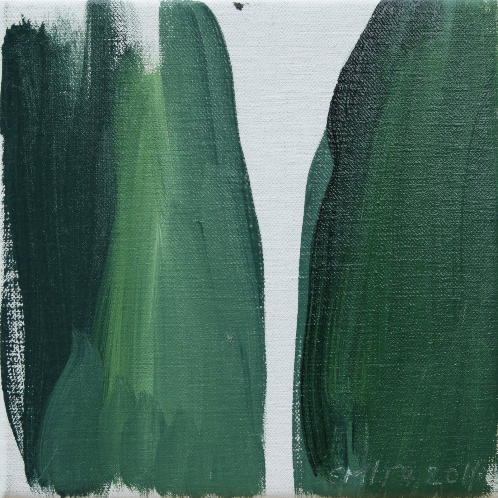 "Emma Smith, ""green thigh"" (2011)."