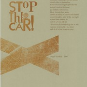 """Stop the Car"" by Angela Gardner (Print, 2008)."