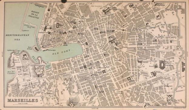 Marseilles 1896, by Charles Bertram Black