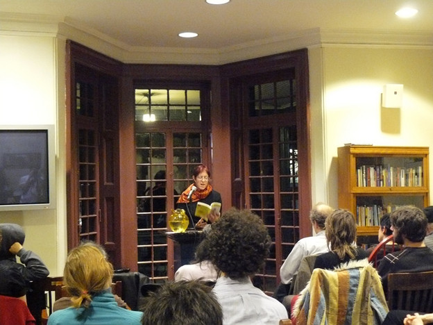 Rachel Blau DuPlessis reads at Kelly Writers House, Philadelphia, February 5, 20