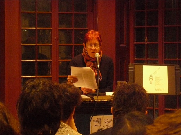 Rachel Blau DuPlessis reads at Kelly Writers House, Philadelphia, March 3, 2011.