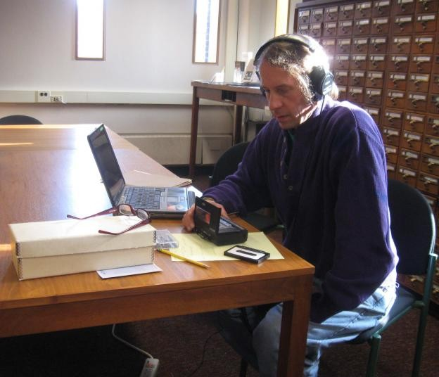 Chris Funkhouser, Penn's Rare Book and Manuscript Library, 2010