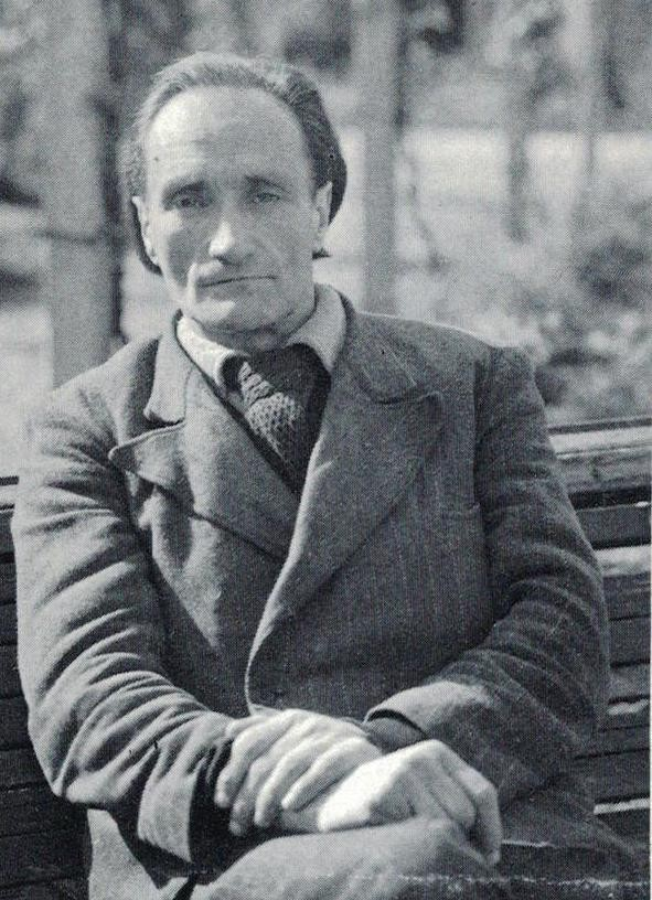 Antonin Artaud at the Rodez asylum