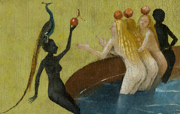 Hieronymus Bosch, 'Garden of Earthly Delights' (detail).