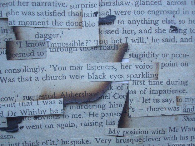 Detail from The Crime LINKS in the Smoke by Campbell Walker