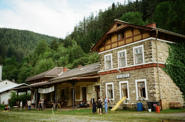 Neuberg Train station, Neuberg, Austria