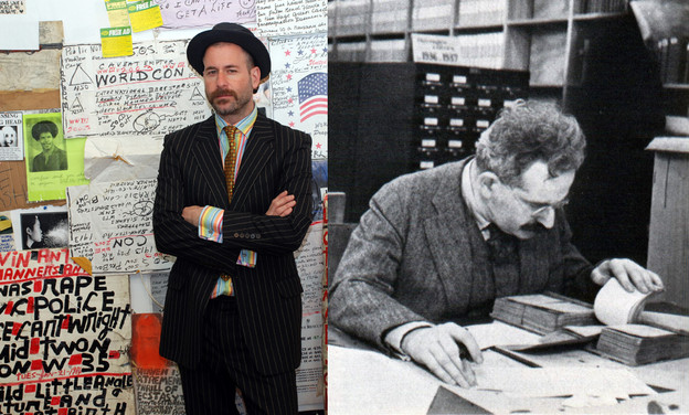 Kenneth Goldsmith and Walter Benjamin