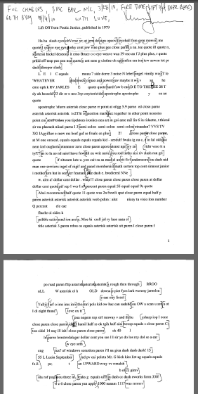 Kenneth Goldsmiths Script For Lift Off Jacket2