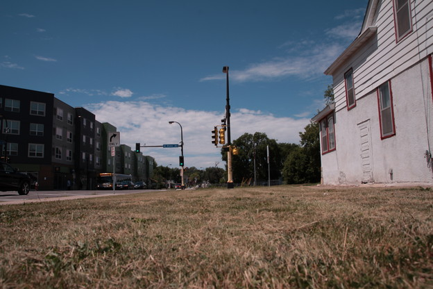 Vacant lot: North Minneapolis