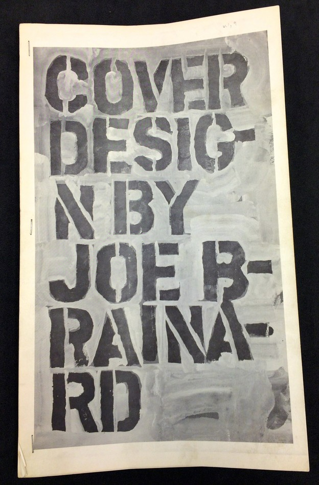 C cover by Joe Brainard