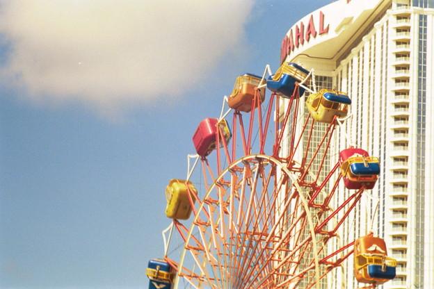 Ferris wheel outside Taj Mahal casino