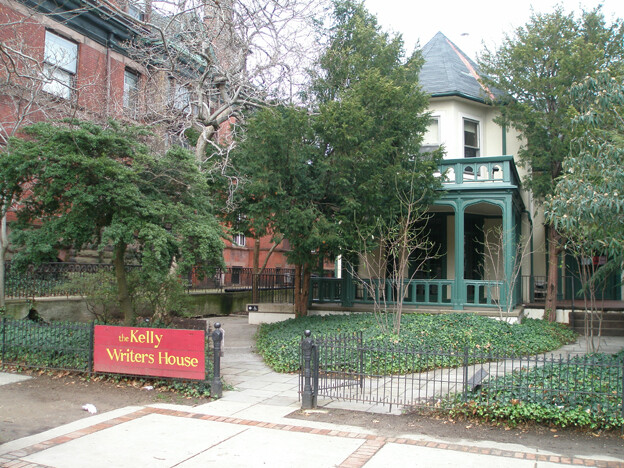 The Kelly Writers House in 2007; photo by Bruce Anderson, via Wikimedia Commons.