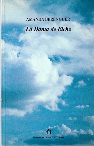 La Dama de Elche book cover,  Madrid, 1987