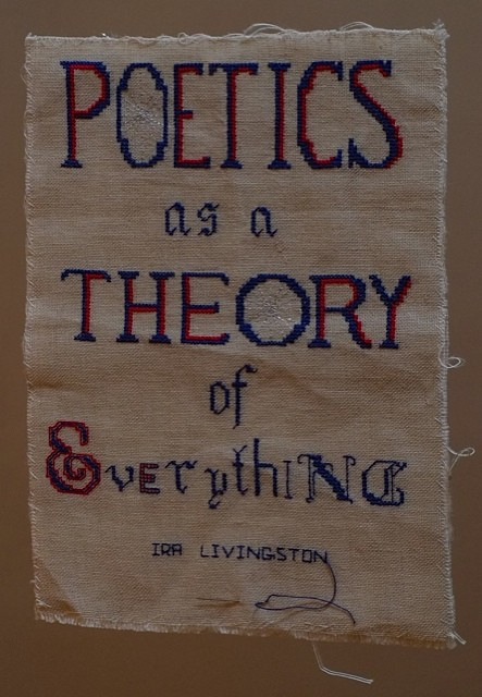"""Poetics as a Theory of Everything."" Maria Damon and Ira Livingston."