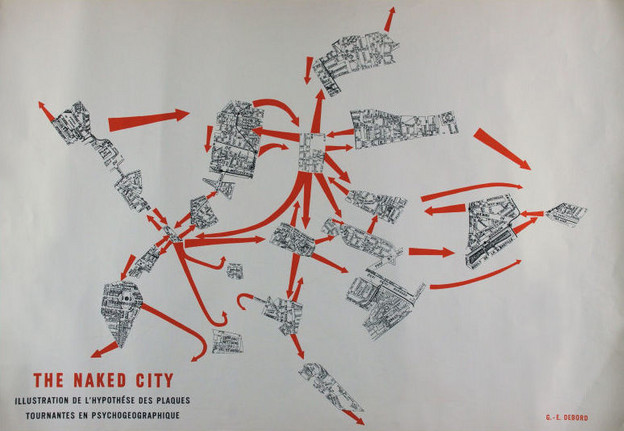 Guy Debord and Asger Jorn's The Naked City (1957)