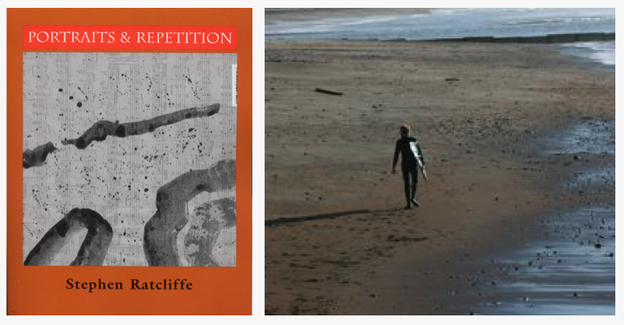 Portraits & Repetition; Stephen Ratcliffe in the surf.