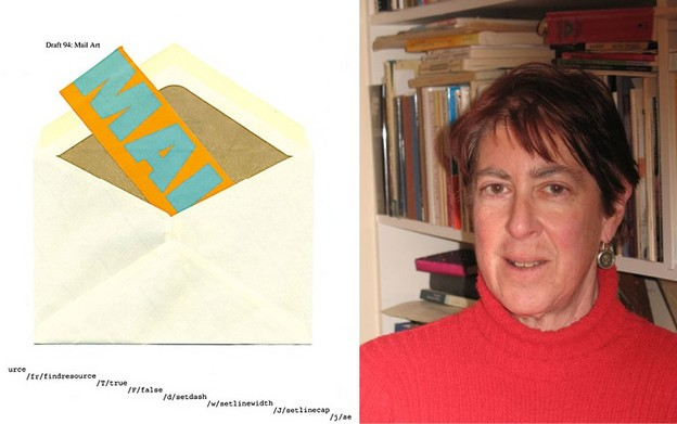 Rachel Blau DuPlessis in 2007 in Philadelphia. Photo by Robert S. DuPlessis.