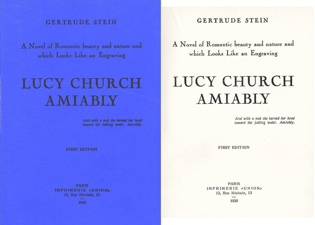 Gertrude Stein, Lucy Church Amiably