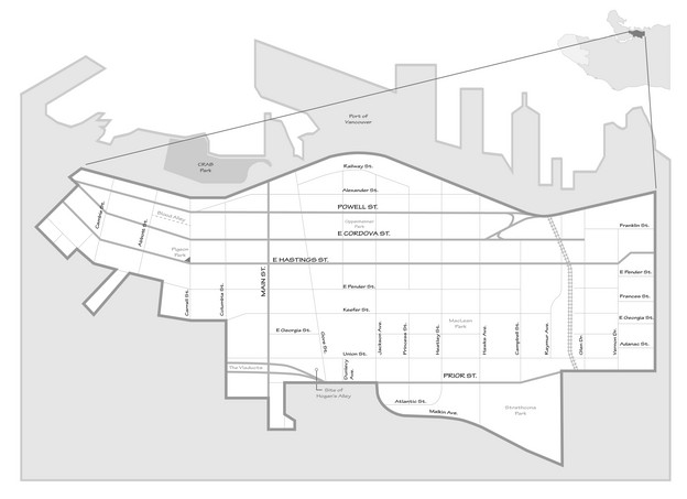 "image from 'V6A"" of the Downtown Eastside, by Metis architect Erick Villagomez"