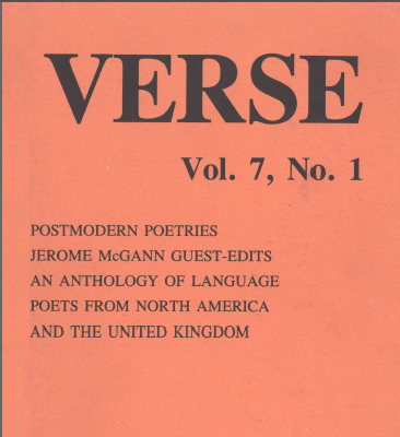 Verse cover (detail)