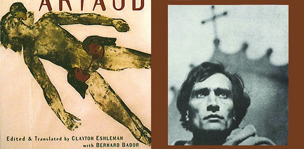 Image 1: Watchfiends and Rack Screams. Image 2: Antonin Artaud: Man of Vision.