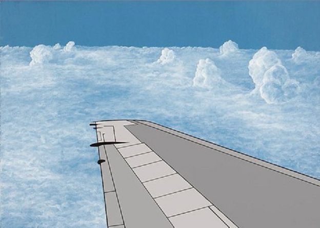 Wing Two by Allen D'Arcangelo (1982)