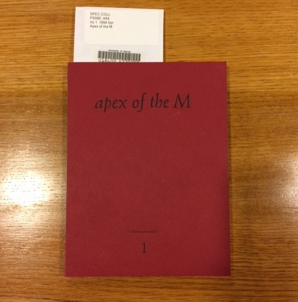 apex of the M, issue 1.