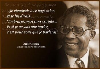 Aimé Césaire: From the original version (1939) of 'Notebook