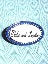 Clubs and Societies badge