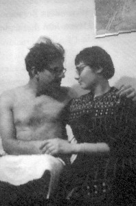Allen Ginsberg and Elise Cowen