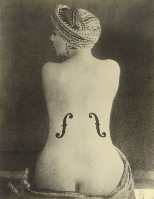 "The J. Paul Getty Museum, Los Angeles. Man Ray, ""Le Violon d'Ingres,""1924."