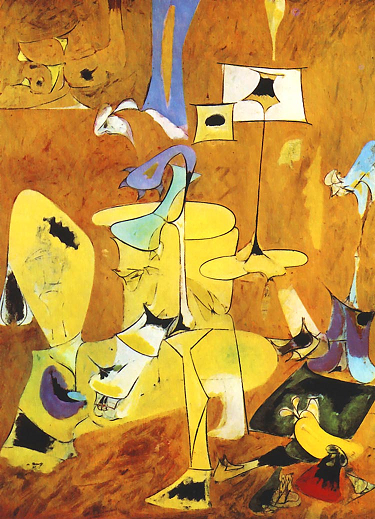 "Arshile Gorky's ""The Betrothal"""