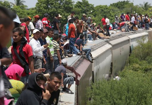 The search for asylum winds through Mexico