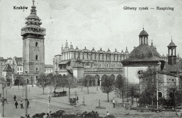Kraków, the city where Trakl died in 1914.