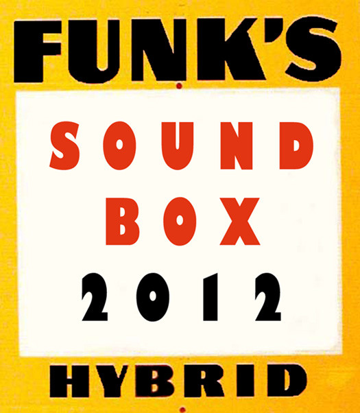 Funk's SoundBox 2012 logo