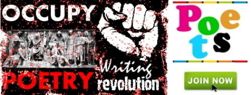 Image of Occupy Poetry logo.