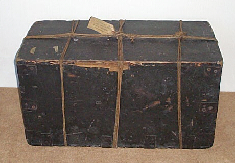"""Joanna Southcott: """"A box of common wood"""" which holds """"the ark of the new covenan"""
