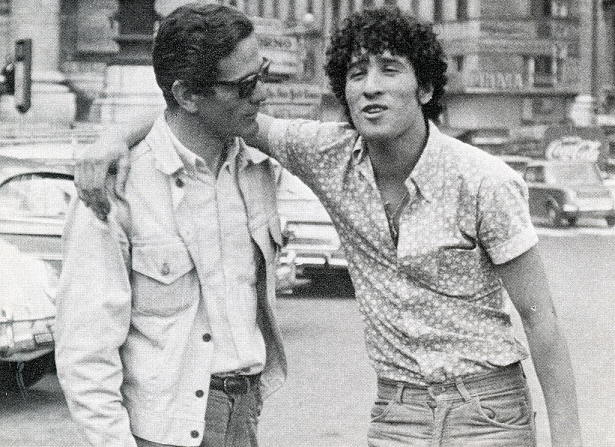 Pier Paolo Pasolini and Ninetto Davoli