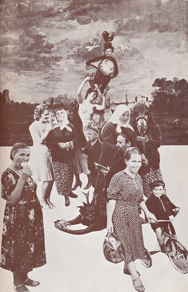 Eleanor Antin: collage, Poland/1931, after Jerome Rothenberg